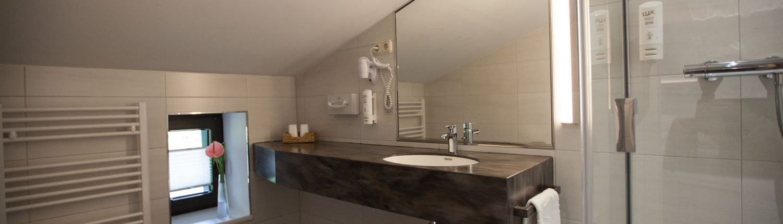 Foto Duschbad eines Hotelzimmers