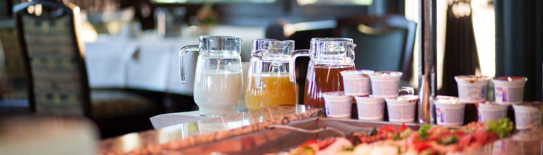 Foto Blick au das Frühstücksbuffet