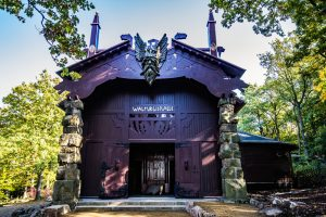 Foto der Walpurgishalle im Harz